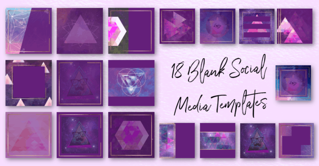 Purple Spirit Social Media Bundle 3