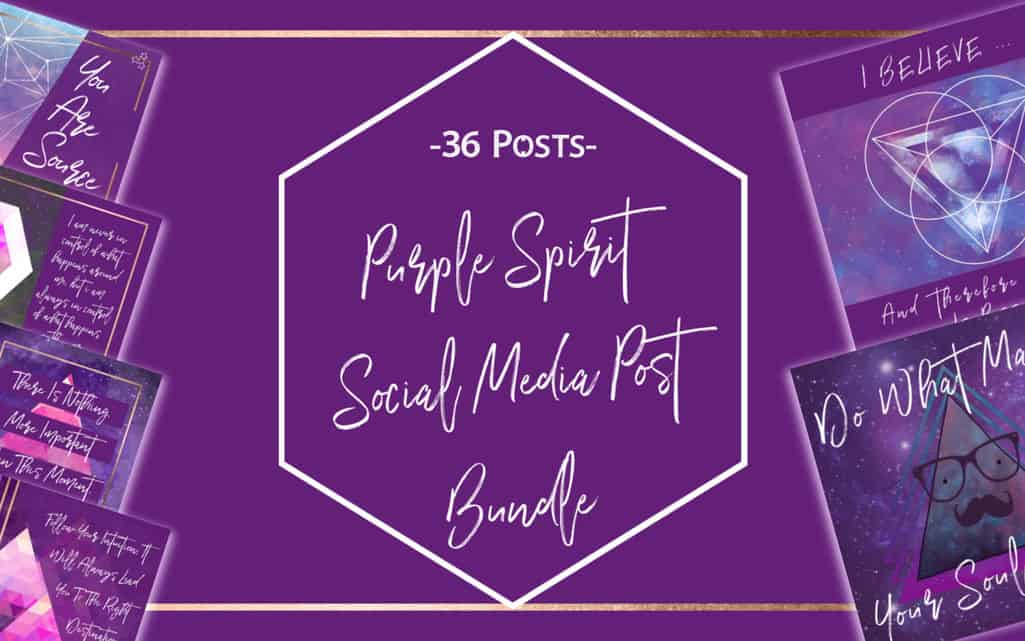 Purple Spirit Social Media Bundle 1