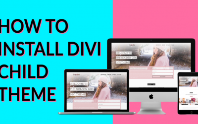 How To Install Your Divi Child Themes