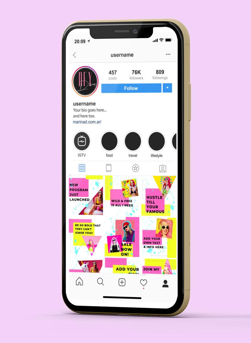Wild & Free - Canva Ready Social Media Templates 7