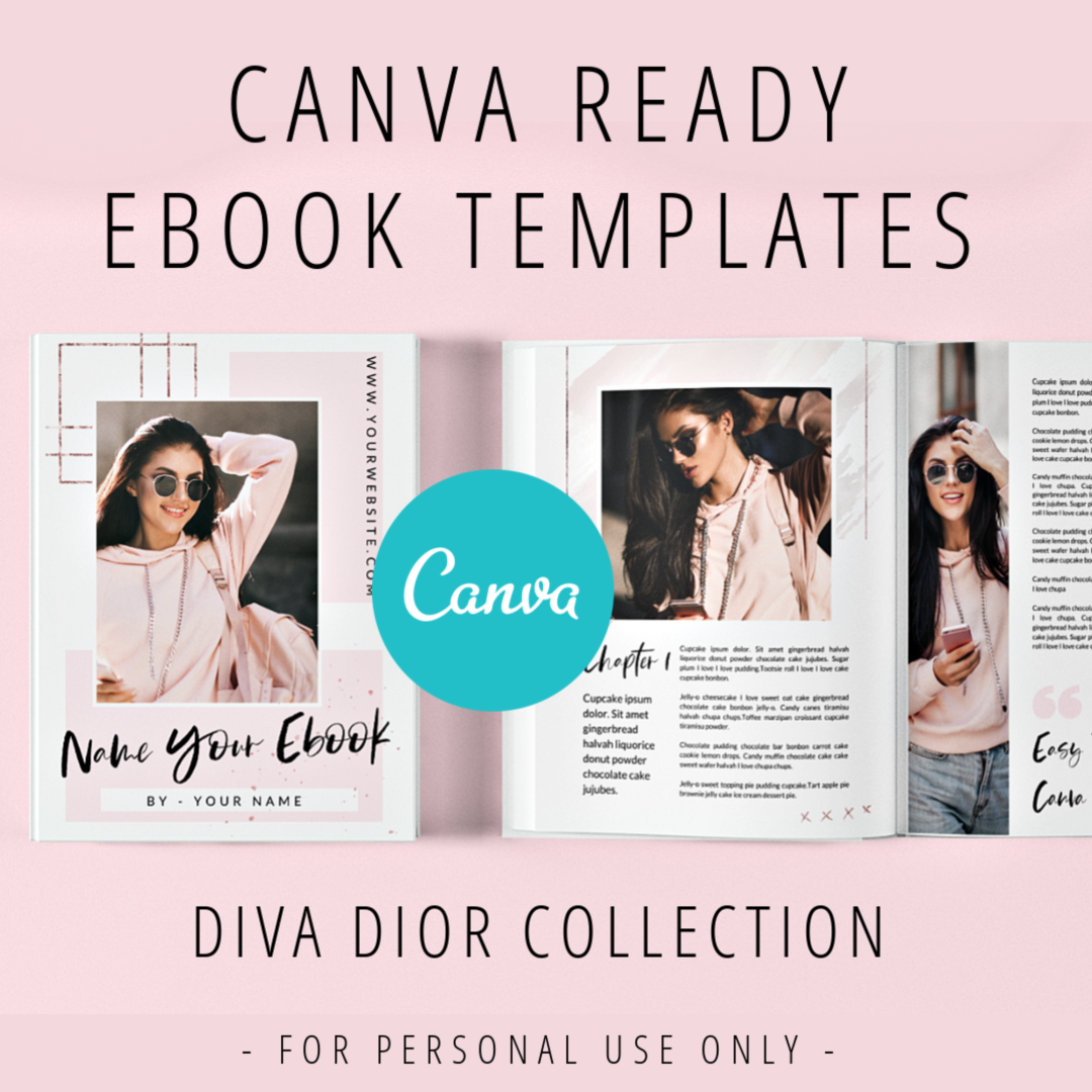 Diva Dior Slide Deck Canva Template - Diva Dior 26