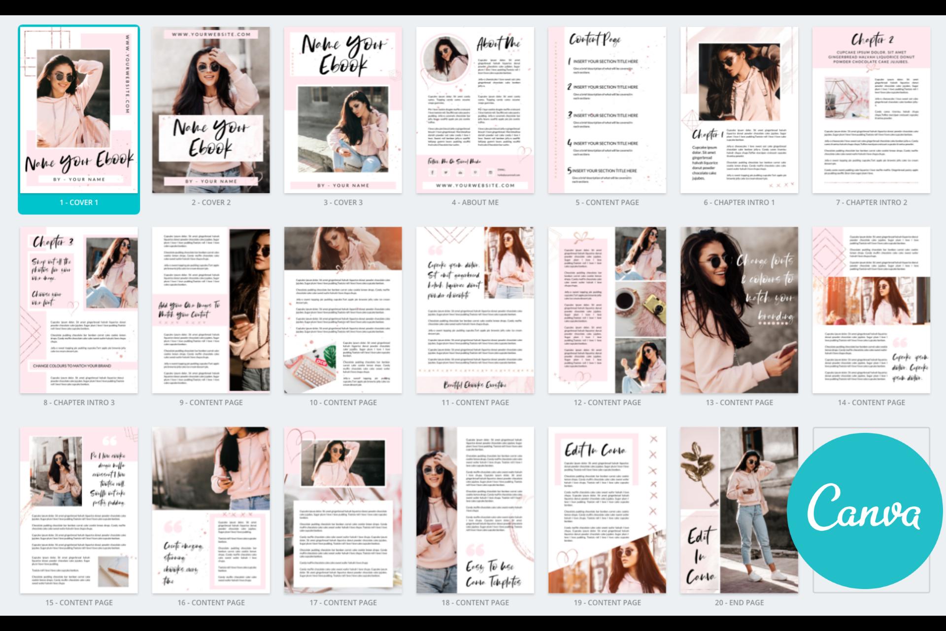 Canva Ready Ebook Template - Diva Dior 9