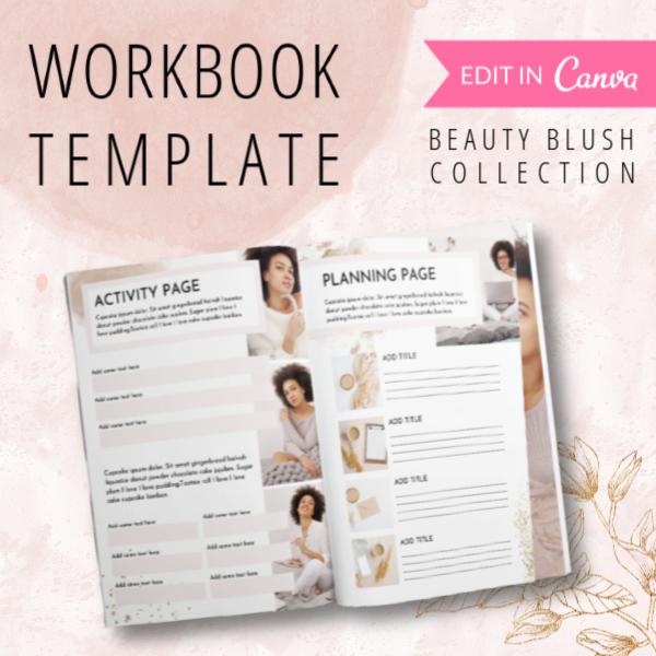 canva workbook templates