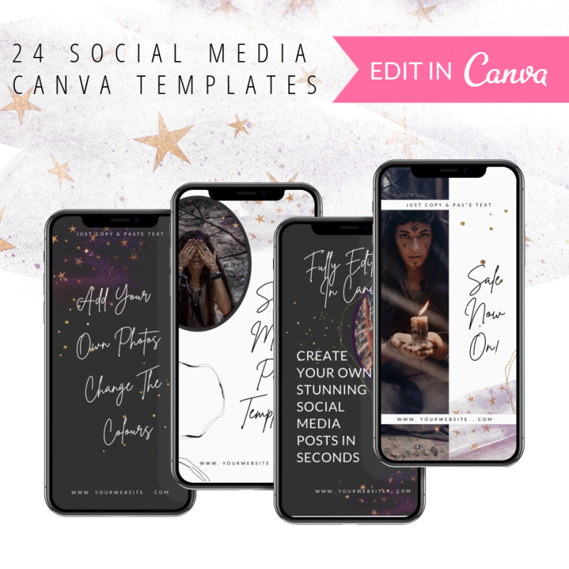 Canva Instagram Story Templates