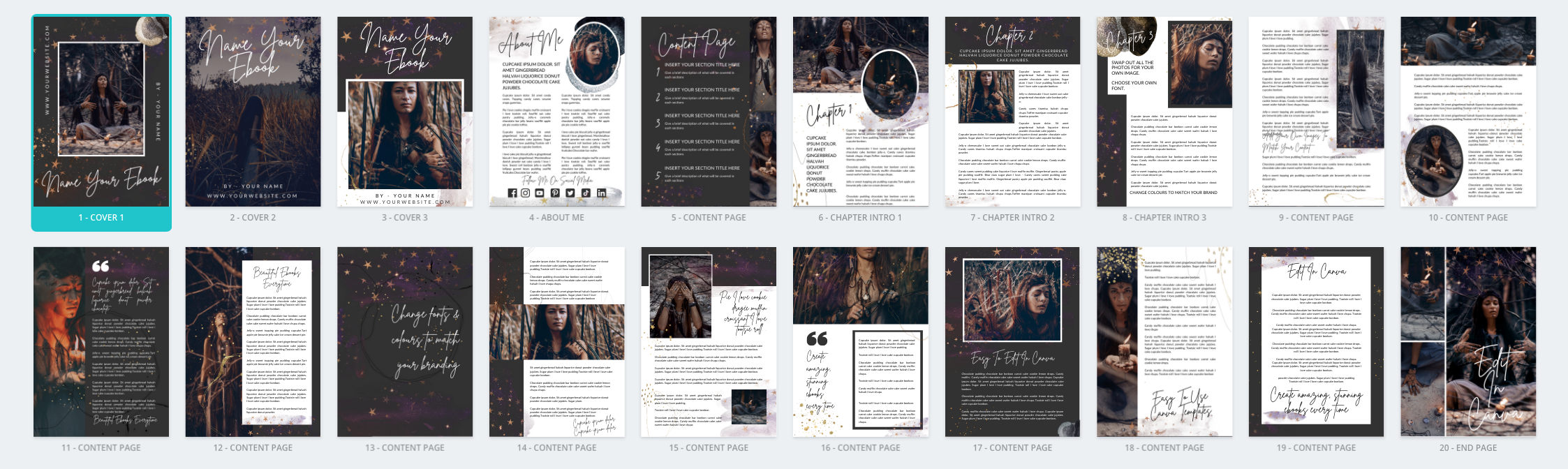 canva ebook template