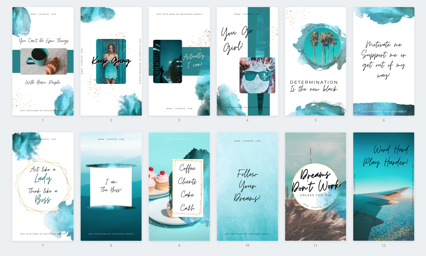 done for you canva templates