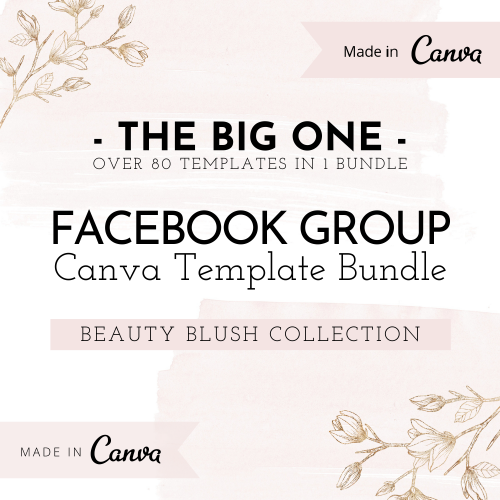 Canva template bundle