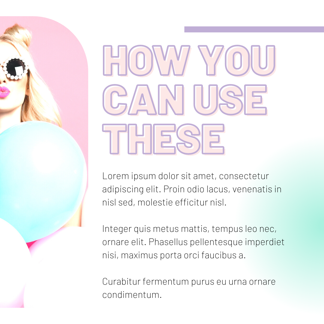 Summber Vibe Social Media Canva Templates - 80 38