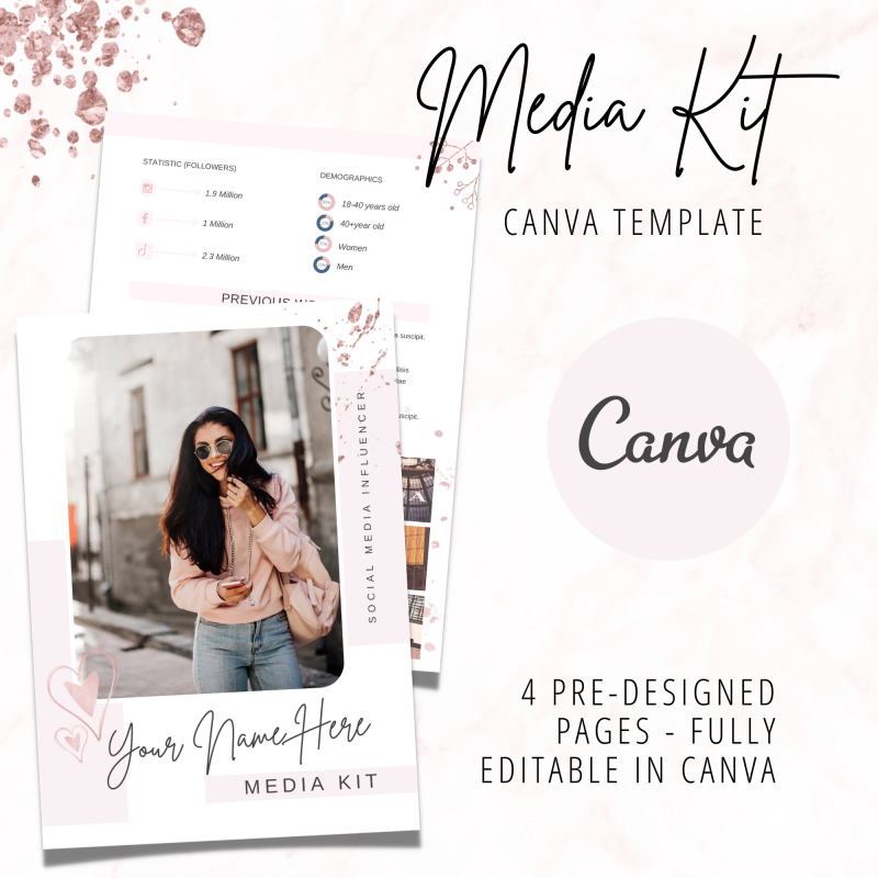 canva media kit