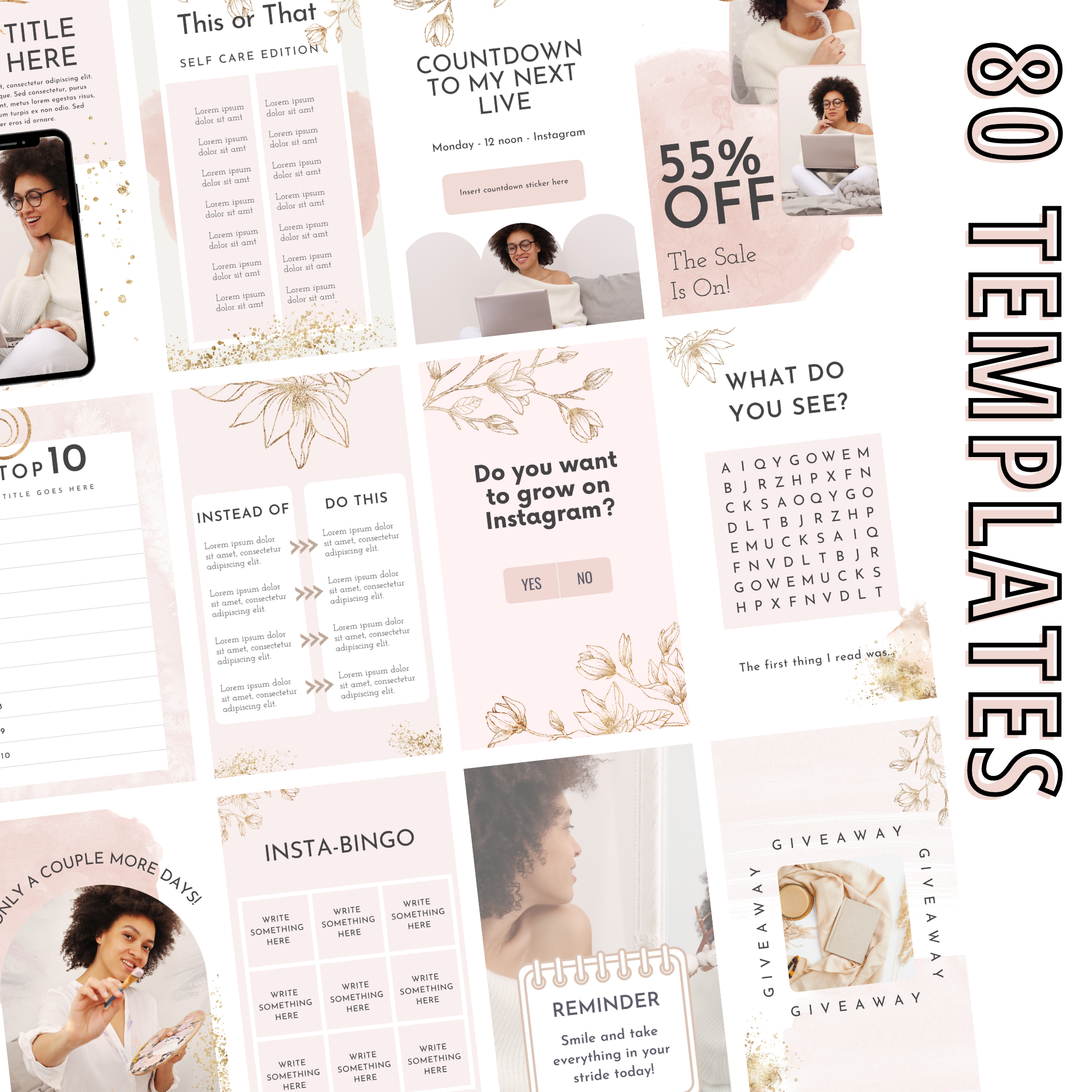 canva templates for sale