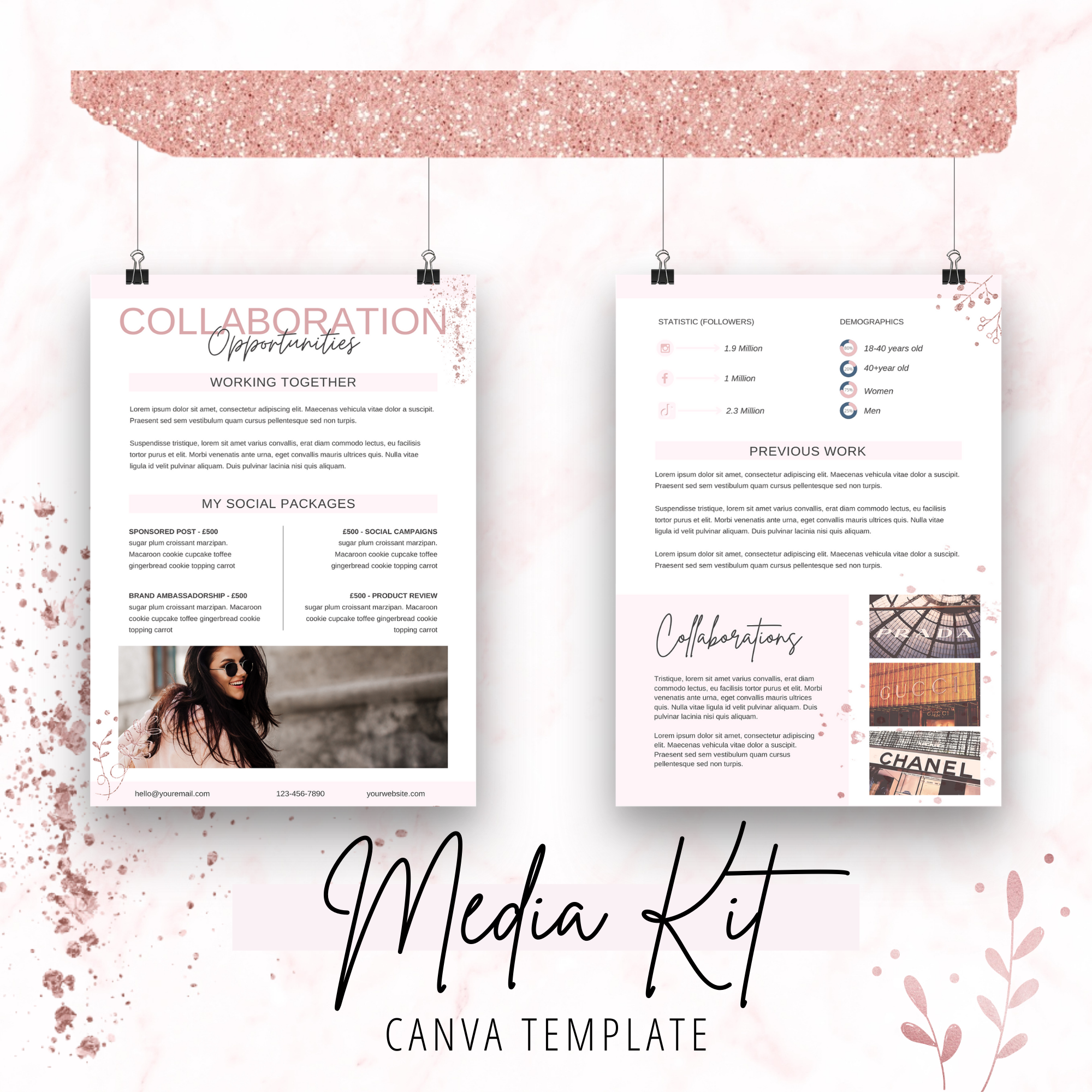 canva template shop