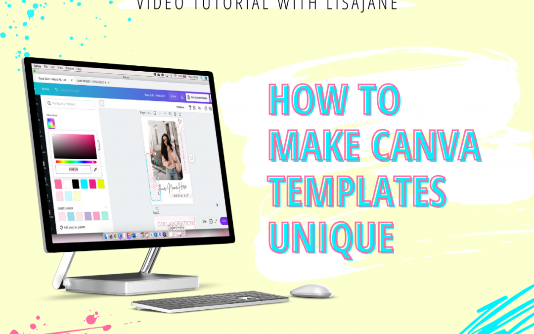 How To Make Canva Templates Your Own Unique Designs
