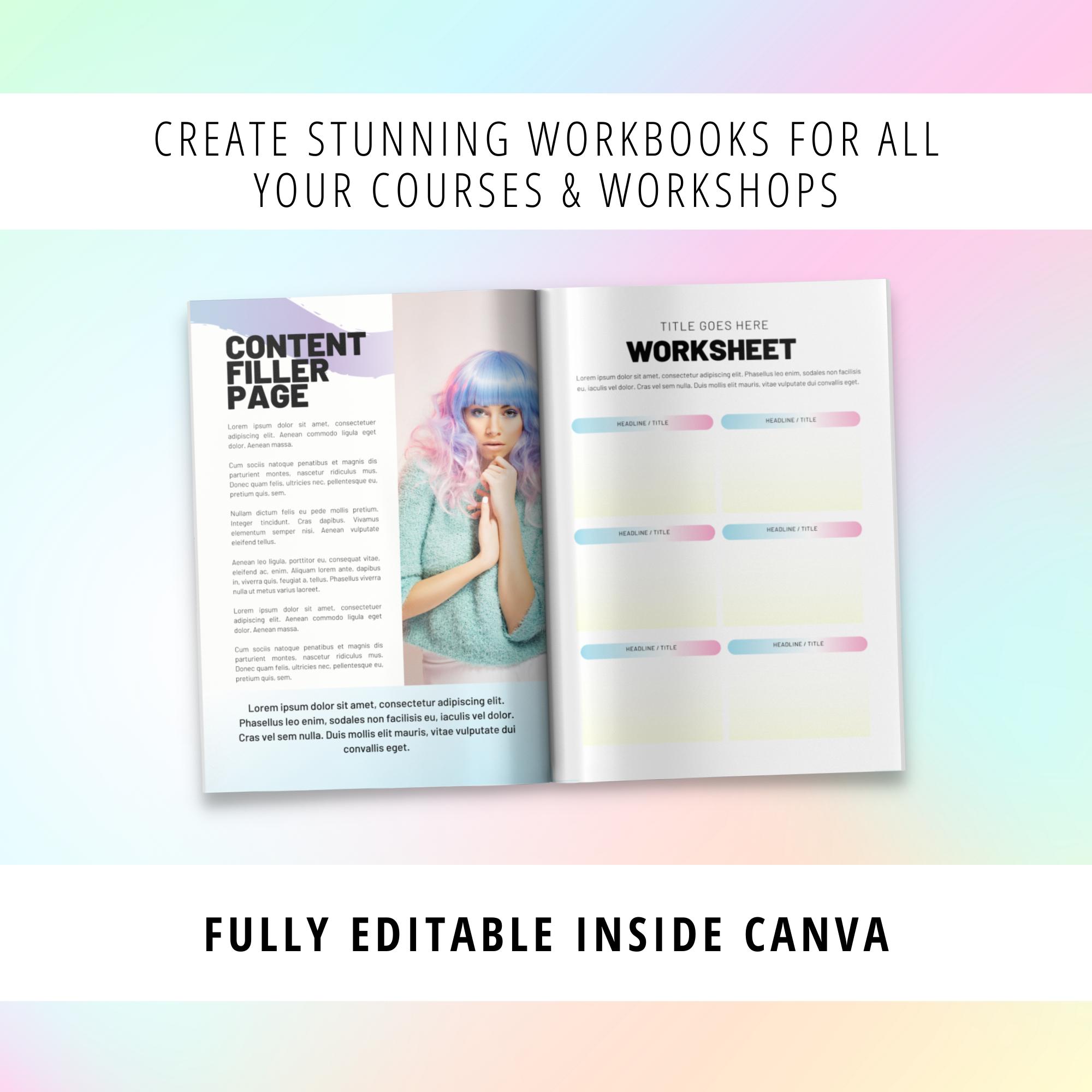 workbook templates