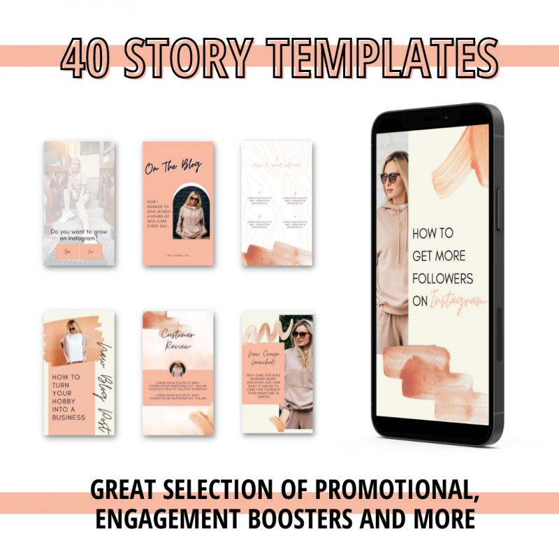 canva templates for social media